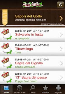 Sagre d'Italia App IPA 2.2