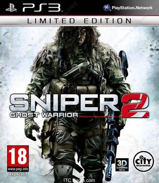 Sniper Ghost Warrior 2 for ps3