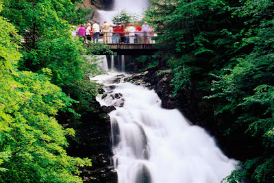 Interlaken Giessbach Falls