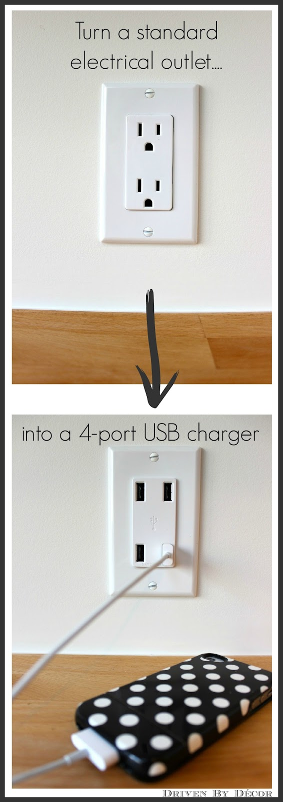Leviton Usb Charger Giveaway Driven By Decor