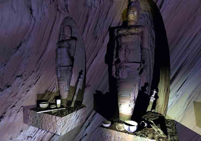 Egyptian-American Mummies in Death Valley, Grand Canyon