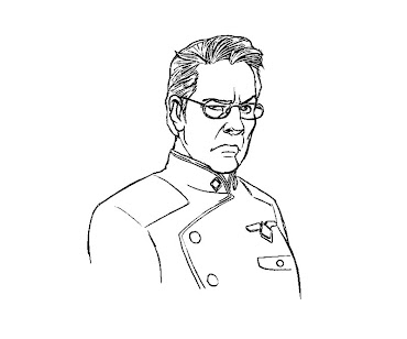 #16 Battlestar Galactica Coloring Page