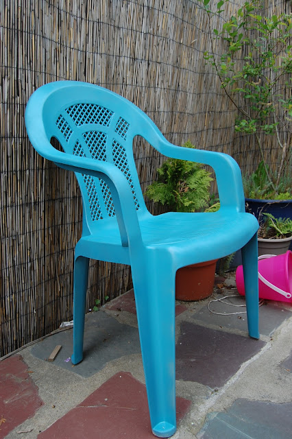 Outdoor Chair Redo