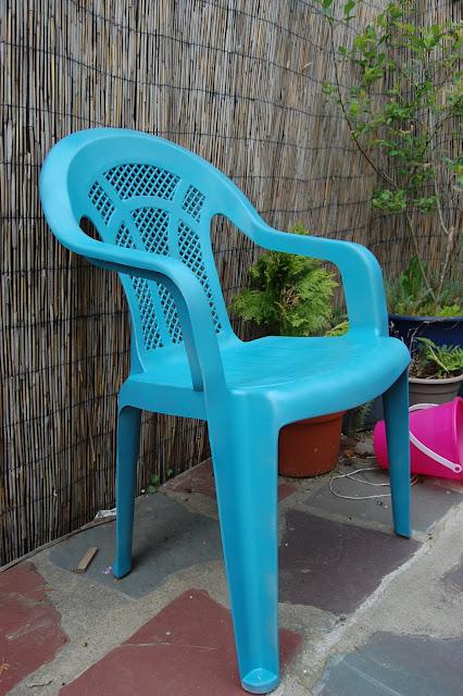 Outdoor Chair Redo
