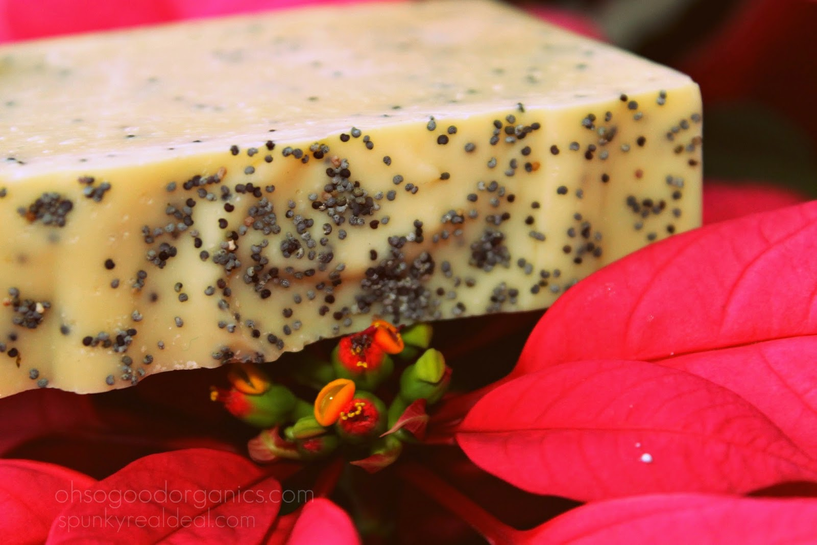 Organic Soap Sweet Orange Poppy