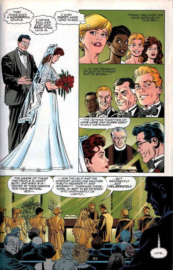 house of mystery dopo 15 anni il matrimonio di superman e lois