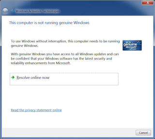 windows genuine update to avoid