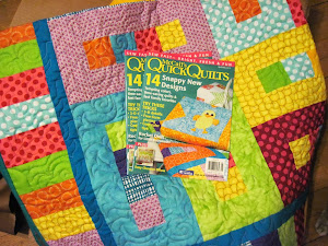 My Peas In a Pod quilt pattern was in McCalls Quick Quilts Magazine!