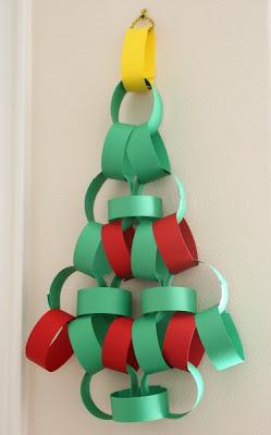 Lembrancinhas e enfeites de natal feitos com papel