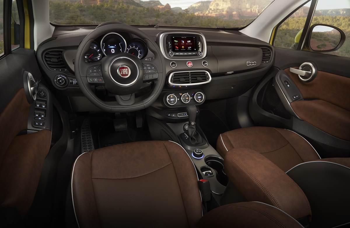 Fiat 500X - interior