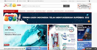 Cuci Gudang Akhir Tahun MatahariMall.com