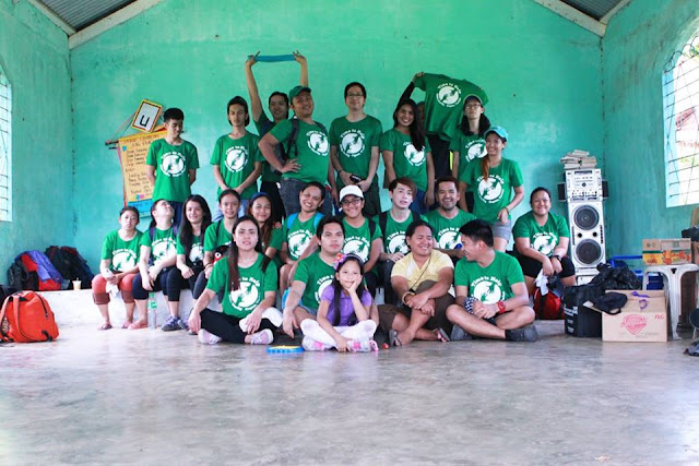 Kabun Mountaineers and Volunteers in Sitio Darlig