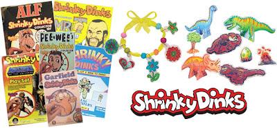 Colorforms Shrinky Dinks