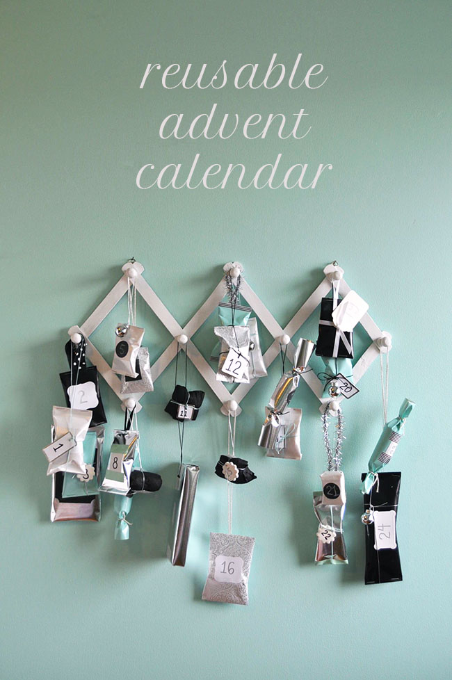 Reusable Advent Calendar | Snowdrop and Company