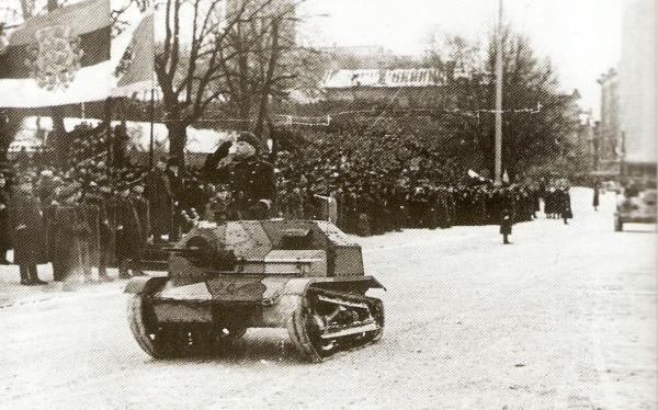 The World War Blog Tk 3 Tankette