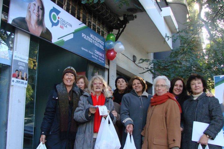 Mujeres por la Paz en campaña