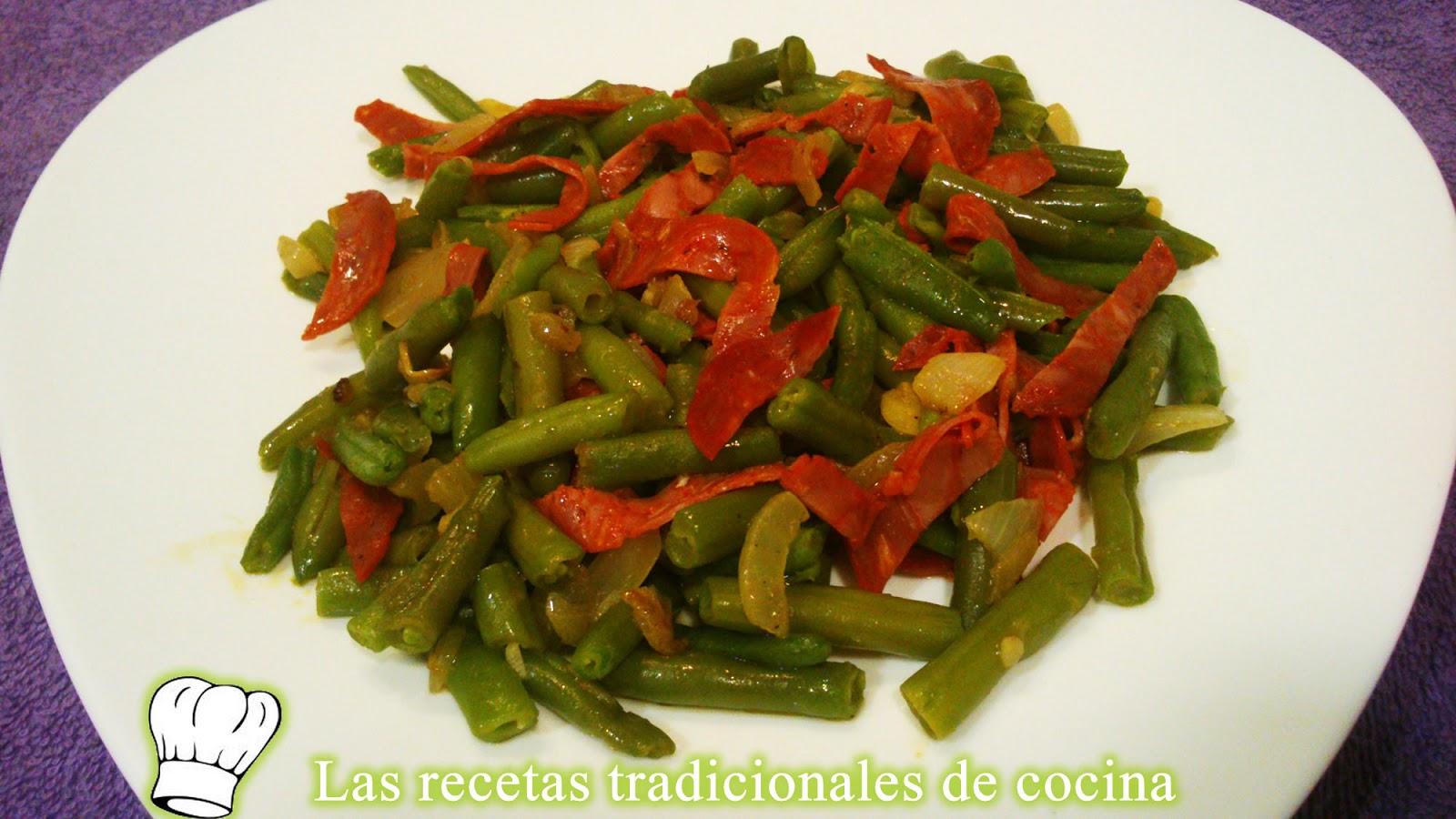 Receta de jud as bobby con chorizo recetas de cocina con sabor tradicional - Judias con chorizo y patatas ...
