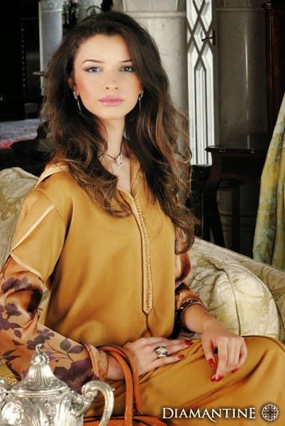 djellaba de luxe 2015 pour femme
