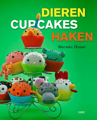 Mijn eerste haakboek &#39;Dierencupcakes haken&#39;