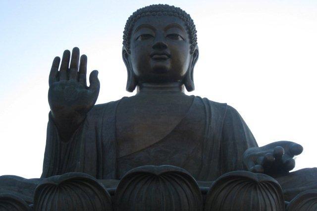 Gran Buda en Ngong Pin, Hong Kong