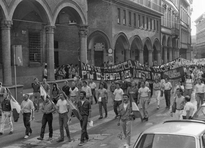 BOLOGNA 1986 CORTEO