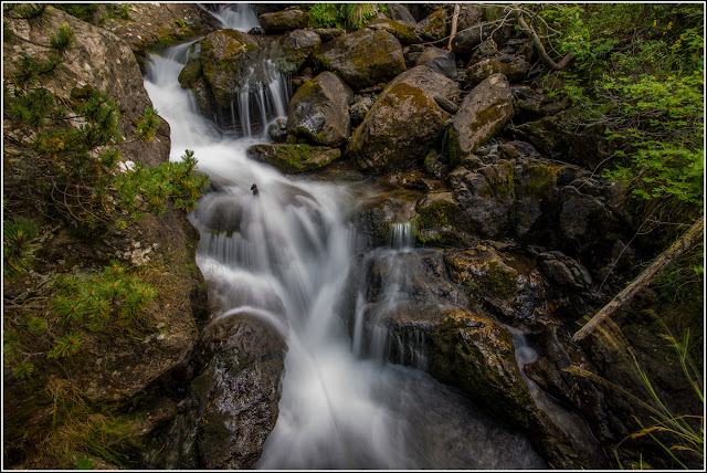 Parc Natural (de la Vall) de Sorteny (Ordino): Cascada - Larga exposición
