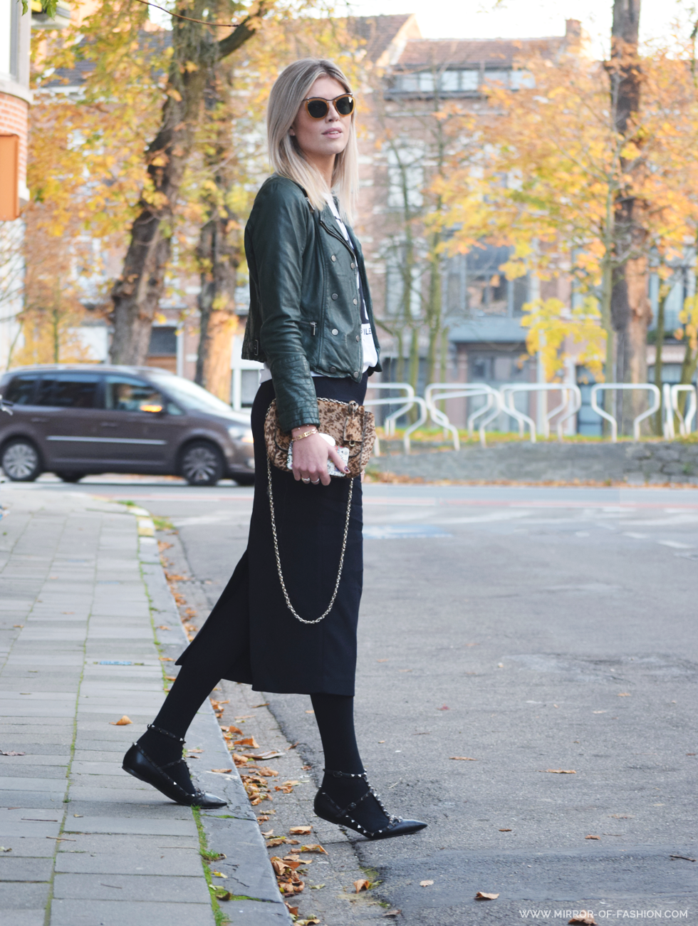 Outfit of the day, Dries Van Noten, La Redoute, Maje, Zara, mulberry, Falke, Valentino, Guess, iMaGiN, spell on me, ootd, style, fashion, blogger