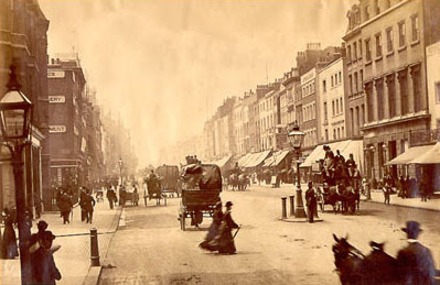 Oxford Street in 1875