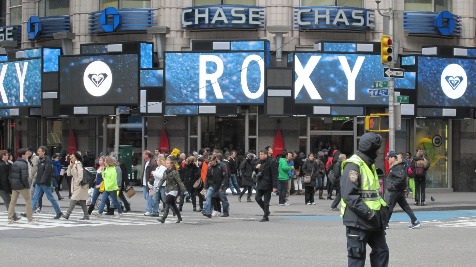 bright lights my city winter clothing drive at the roxy times square. Black Bedroom Furniture Sets. Home Design Ideas