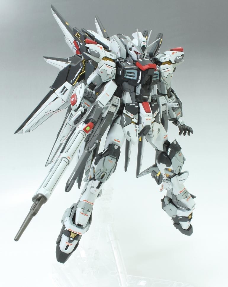 GUNDAM GUY: RG 1/144 Strike Freedom Gundam + AEGIS Unit ...