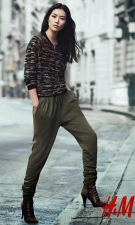 H&M otoño invierno 2014 2015 pantalones jersey mujer