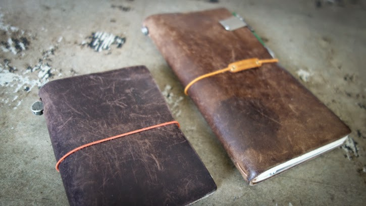 Image of: Vector How Does Your Travelers Notebook Look So Far Would Love To See It If You Could Send Us Pictures Baumkuchen Metamorphosis Midori Travelers Notebook Brown Years