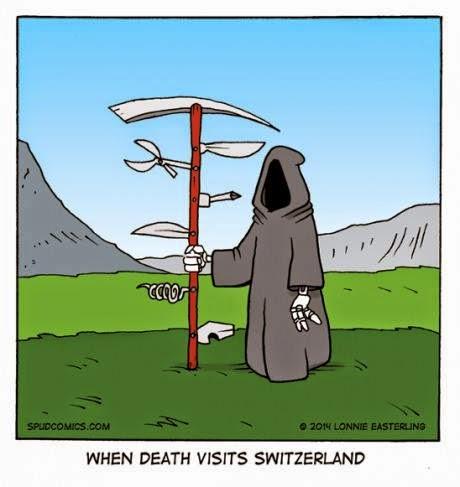 Swiss Reaper - When death visits Switzerland