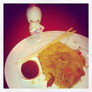 spaghetti di soia con verdure - la cina e' vicina