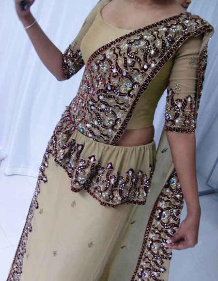 Sri Lankan Blouse Patterns 84