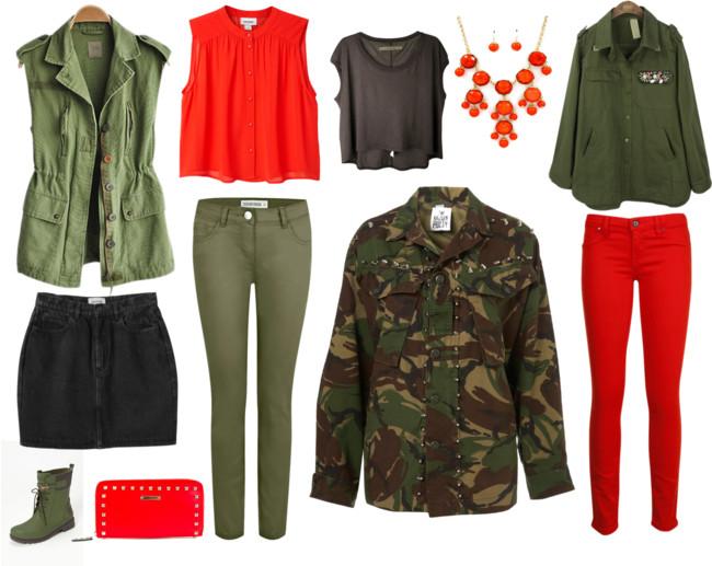 בלוג אופנה Vered'Style טרנד הסגנון הצבאי