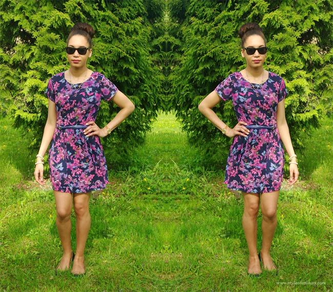 Floral dress, Freya dress