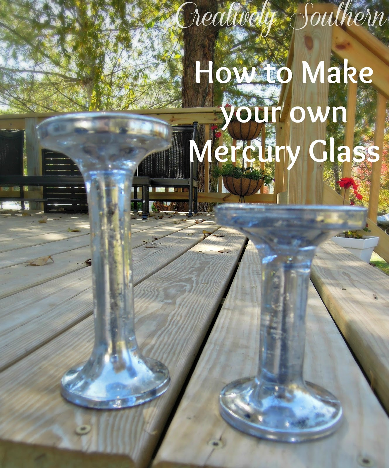 how to make mercury glass - How To Make Mercury Glass