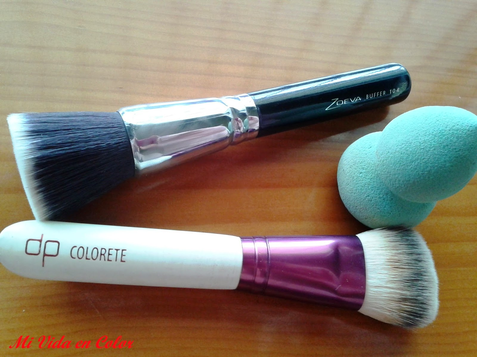 brushes, brochas, deliplus, colorete, zoeva, 104 buffer, make up blender, mi vida en color