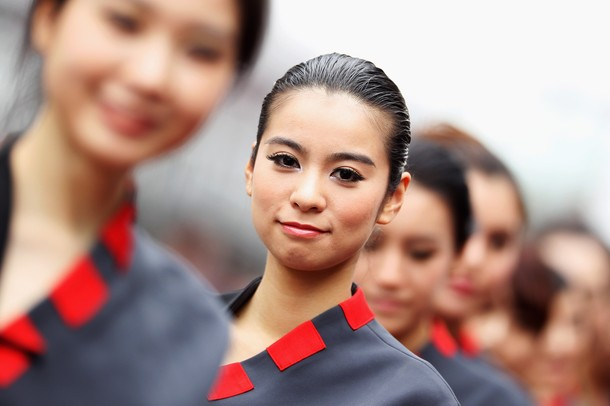 Hot grid girls f1 2012 chinese grand prix