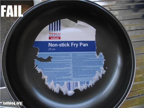 nonstick frying pan fail - Non Stick Frying Pan