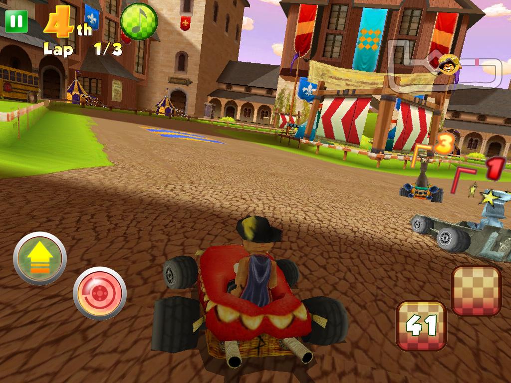 ���� �������� ������� Shrek Kart HD v1.1.0 �� ����� ���� �������� �����