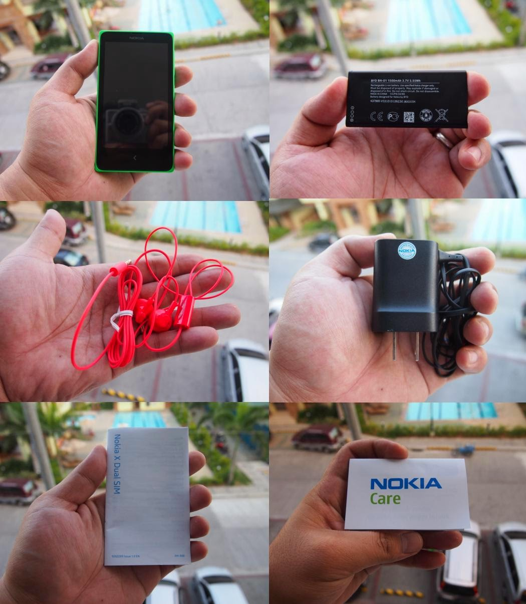 Nokia X Unboxing, Preview And Initial Impression Retail Package