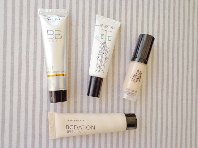 Korean Makeup Base Products - Tonymoly, Clio, Too Cool for School, Mein