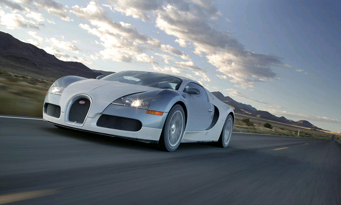 Tốc độ xe nhanh nhất thế giới đang thuộc về Bugatti Veyron