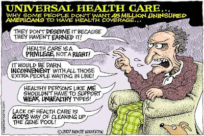 sicko universal health care Sicko is a 2007 documentary film comparing the highly profitable american  so  there was actually one place on american soil with free, universal healthcare.