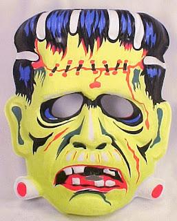 máscara de frankenstein para halloween