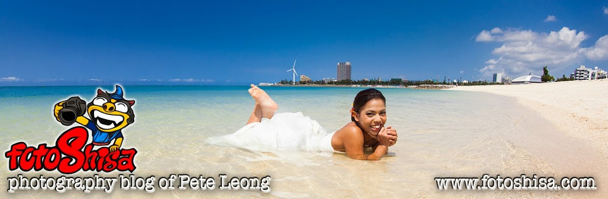 Okinawa Wedding Photographer Pete Leong