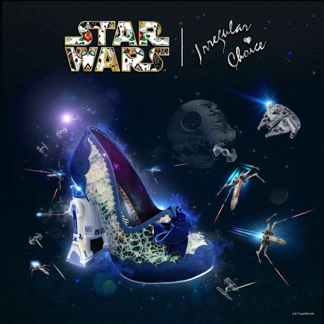 Star Wars Irregular Choice R2-D2 shoes!