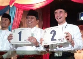 Ini Dia Nomor Urut untuk Seluruh Pasangan Pilkada Serentak Provinsi Jambi